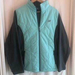 New Balance Fleece Quilted Jacket